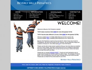Medical Website Design Client, BHP