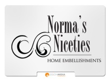 Norma's Niceties Home Embellishments Logo