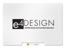e4 Design Logo