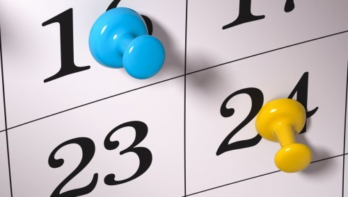 Medical Website Design Calendar