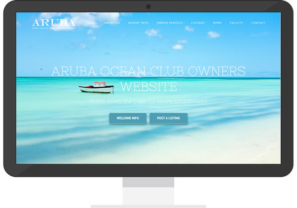 Aruba Ocean Club Owner Site
